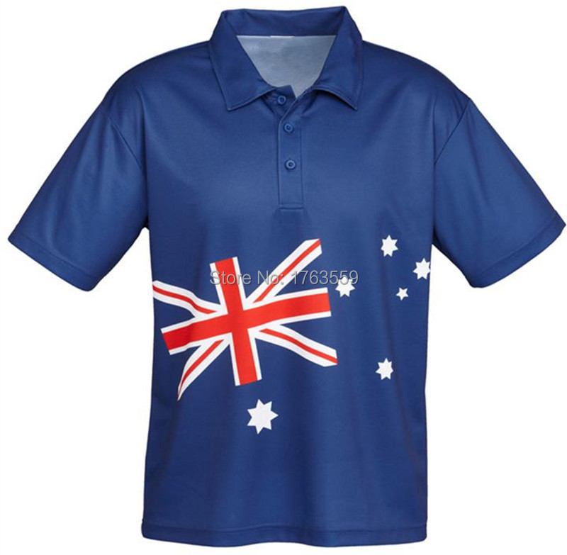 2015 new custom man's polo shirt hot sale in sublimation printing(China (Mainland))