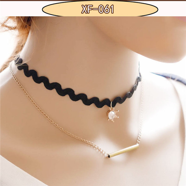 New lace chokers necklace evening party lady jewelry ...