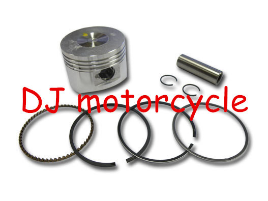 52.4mm piston with rings sets for 110cc mini motocross 110cc ATV engine parts piston kits KTM dirt bike spare paaarts(China (Mainland))