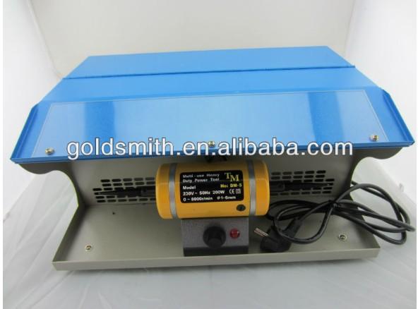 mini table polisher,Polishing motor with Dust Collector,mini jewelry lathe, buffing polishing machine(China (Mainland))