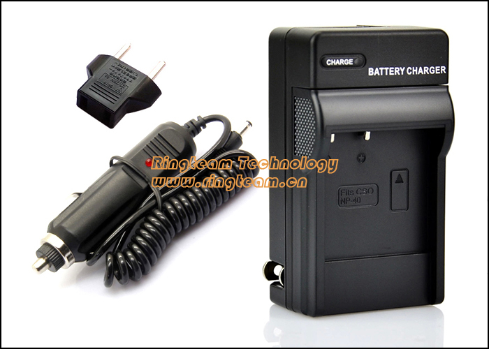 Replace Casio BC-30L Charger for CNP-40 NP40 NP-40 NP-40DBA Battery. Travel Charger with DC Car Adapter. 2 Items in a Lot.(China (Mainland))