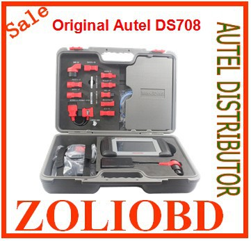 [Autel Authorized] 2016 original DS708 autel maxidas auto scanner DS-708 scan tool update online free DHL - ZL Obdtoolshop Co.,Ltd. store