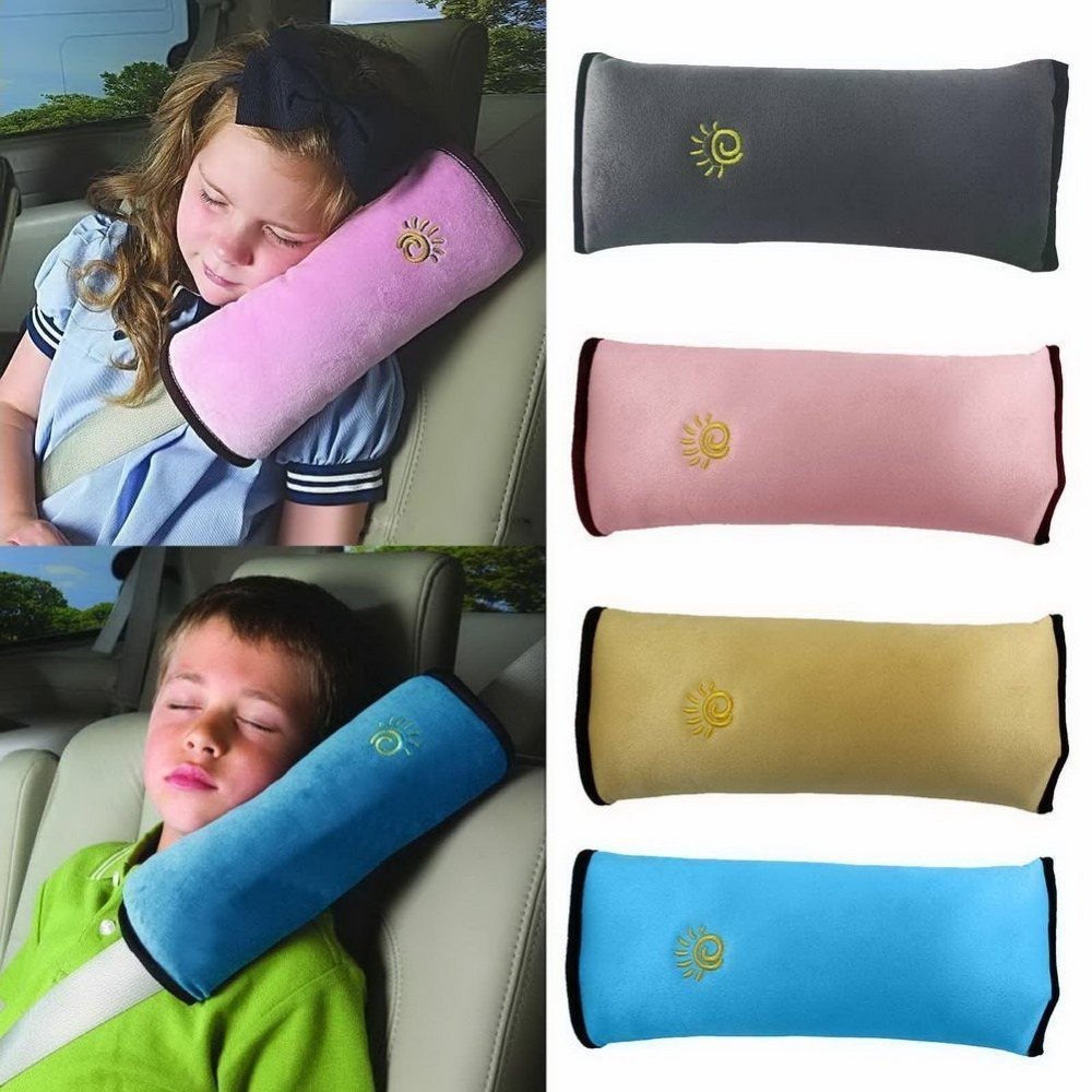 poland newest 1Pcs Baby Car Auto Safety Seat Belt Harness Shoulder Pad Cover Children Protection Covers Cushion Support Pillow(China (Mainland))