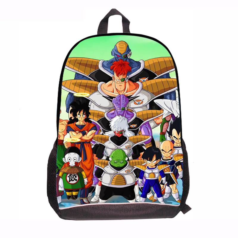 Mochila Dragon Ball Dragon Ball Backpack Kids