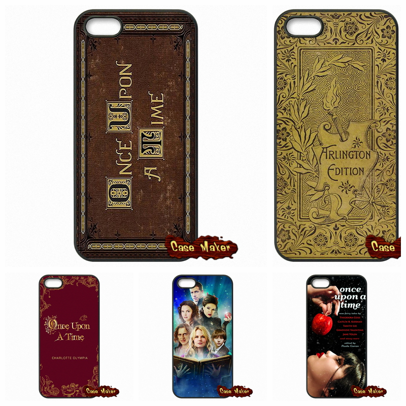 Once Upon A Time Book Phone Covers <font><b>Cases</b></font> For <font><b>iPhone</b></font> SE 4 <font><b>4S</b></font> 5S 5 5C 6 6S Plus Samsung Galaxy S3 S4 S5 MINI S6 S7 Edge Note 4 5