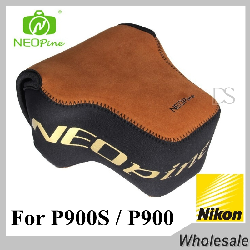 Top Quality For Nikon Coolpix P900s P900 Camera Bag Storage Case Brown Box Camera Accessories Neopine(China (Mainland))