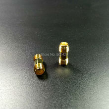 Buy 2pcs Excellent Gold plated mini RF Connector SMA Female Jack SMA Female Jack Adapter 2 Ways Radio SMA Antenna Adaptor for $1.45 in AliExpress store