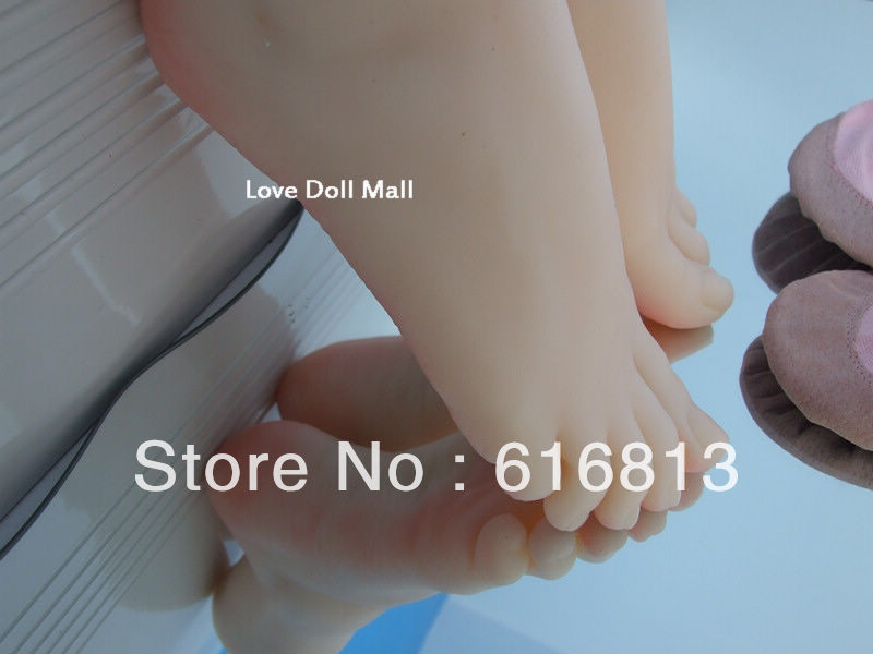 sex real doll solid silicone Pussy Feet fake women feet model shoes shown girls foot 36wb EMS free shipping(China (Mainland))