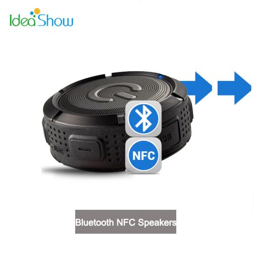 IP67 Waterproof Wireless Bluetooth NFC Speakers IWO F1 Hifi Stereo Sound box Caixa De Som Portable Alto Falante For Phone iPad(China (Mainland))