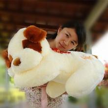 1 шт. 50 см плюшевые ли собака игрушки папа голова наклонена чучело игрушки рождественский подарок Brinquedos