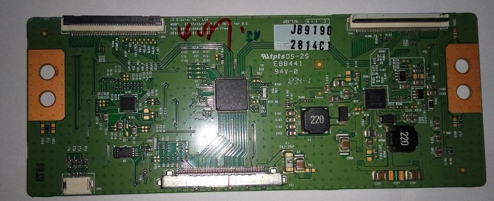 6870C-0401a 6870C-0401C 6870C-0401B модель: 32/37/42/47/55 пикс TM120 Вер 0.2 Т-Кон плата для 32LS5600 LED-телевизор 32 Т-кон