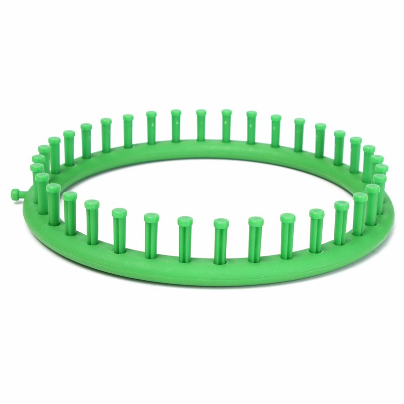 Fashion Classical Round Circle Hat Green Knitter Knifty Knitting Knit Loom Kit 24CM For Home Sewing Handwork Wool Tools(China (Mainland))