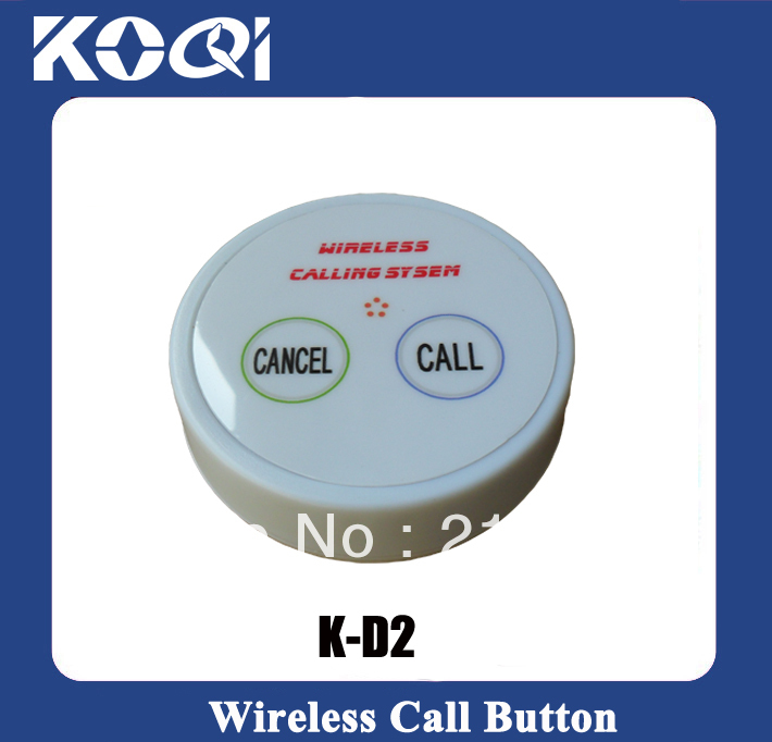 d2 push button table K-D2 CALL CANCEL for wireless waiter call service pager paging calling system(China (Mainland))