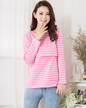 MamaLove Maternity clothes maternity shirt Breastfeeding Tops nursing clothes Nursing Top pregnancy clothes for Pregnant Women(Hong Kong)