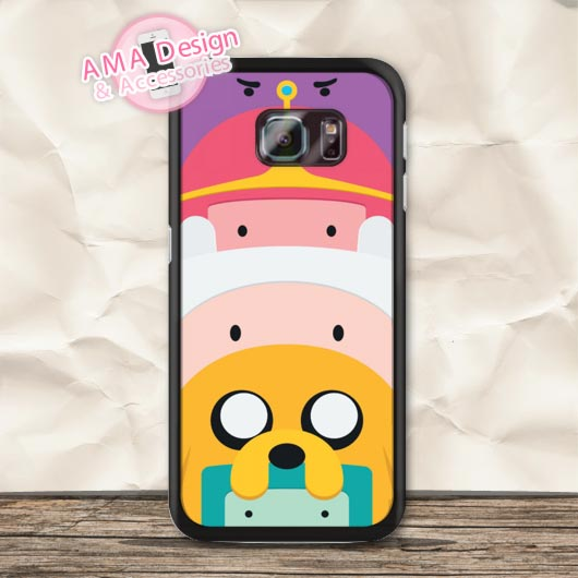 Jake Finn Space Lumpy Adventure Time Case For Galaxy S6 Edge Plus S5 mini S4 active S3 Core Prime A7 A5 A3 Win Ace 3 Note 5 4(China (Mainland))