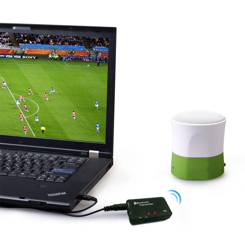 New Bluetooth Wireless 3.5mm A2DP Stereo Audio Music Dongle Transmitter Adapter(China (Mainland))
