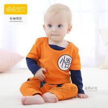 2016 Summer Dragon Ball Baby Rompers Newborn Infant Toddler Bebe Jumpsuit cute newborn baby boy clothes Cotton Infantil Romper