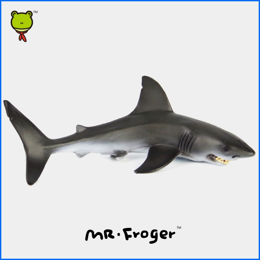 Mr.Froger Carcharodon Megalodon Model Giant Tooth Shark Sphyrna Aquatic Creatures Wild Animals Zoo Modeling Plastic Sea Lift Toy(China (Mainland))