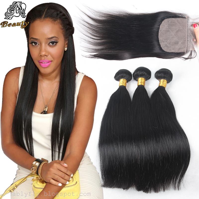 7A Cheap Brazilian Straight Virgin Hair With Silk Base Closure,Silk Closure With 3 Bundles,3 Part Silk Base Closure With Bundles<br><br>Aliexpress