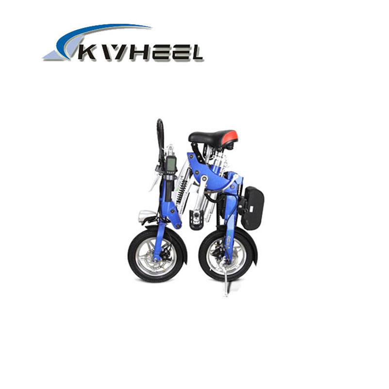 Foldable Electric Bike Mini Fashion Cycling Lithium Battery Bicycle(China (Mainland))