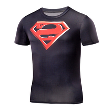 Buy Batman VS Superman T Shirt Tee 3D Printed T-shirts Men Short sleeve Fitness Cosplay Costume compression Slim Fit Tops Male for $7.33 in AliExpress store