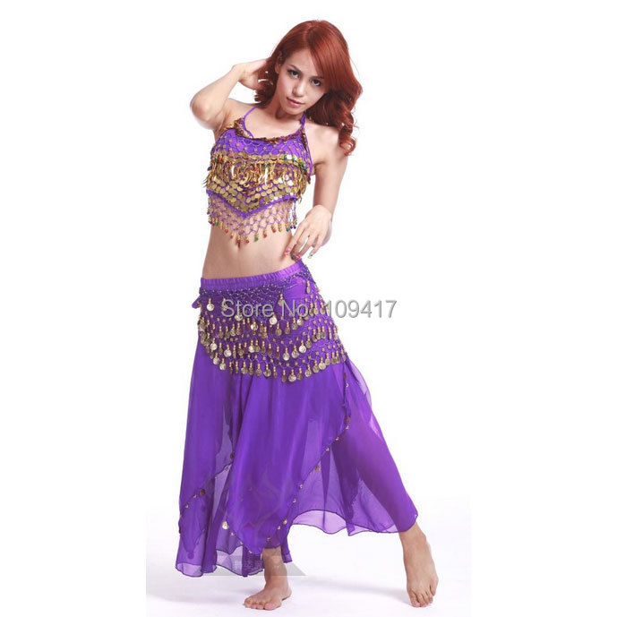 Hot selling Cheapest Design Belly Dance Costume Dancing Clothes Outfit - Guangzhou Qiancai Crafts Factory store