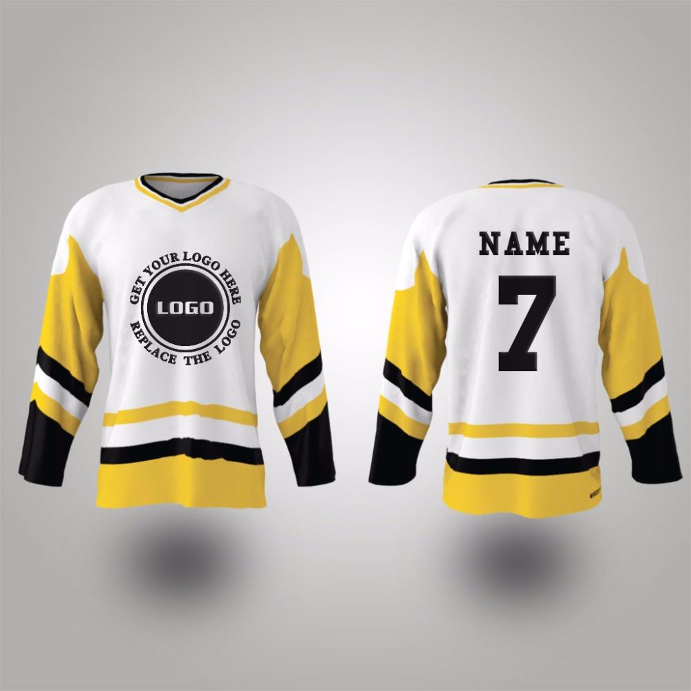 Wholesale fashion ice hockey jerseys design(China (Mainland))