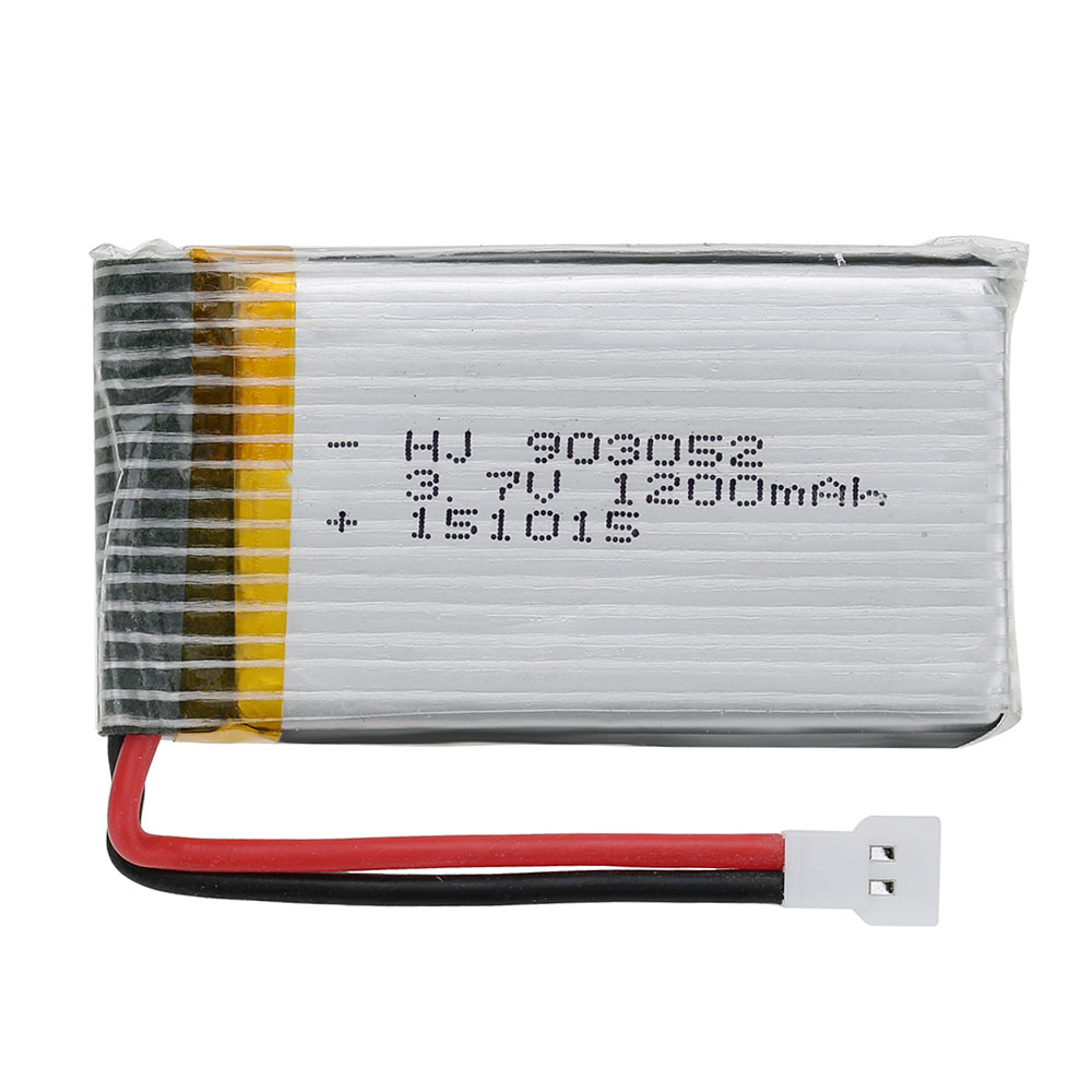 5pcs 3.7V 1200mAh Lipo Battery and 5 in 1 Charger Set for Syma X5SW X5SC RC Quadcopter