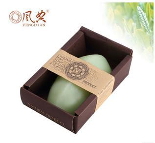 Tea Tree Soap set essential oil By Fitty Natural Thailand for face and body cleaning, 5pcs in different color&type for choose(China (Mainland))