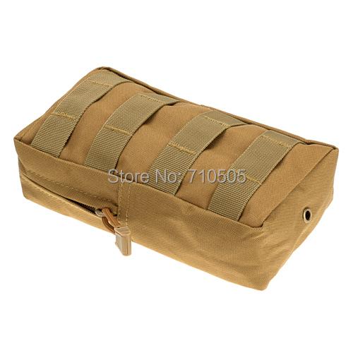 Гаджет  Outdoor Tactical Military Nylon Army Fans Camo Magazine Pouch Bag Waist Bag Pouch Case - SOIL Color None Камера и Сумки