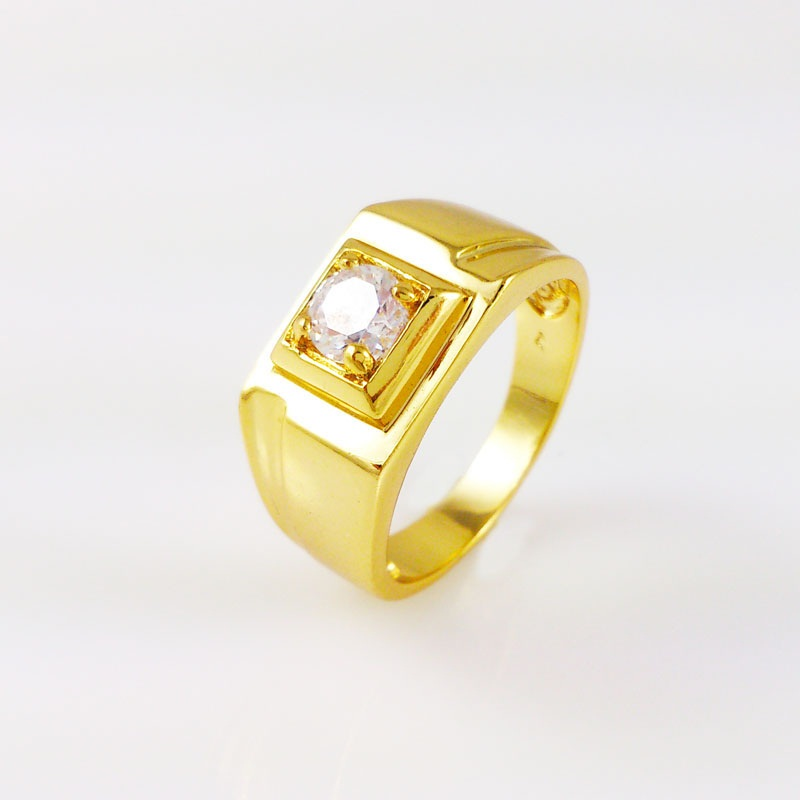 gold fashion rings for men images