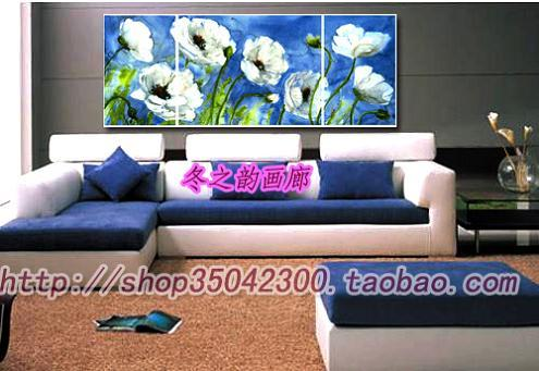 Winter Yun home hand-painted oil painting * * flower set decorative painting frameless painting<br><br>Aliexpress