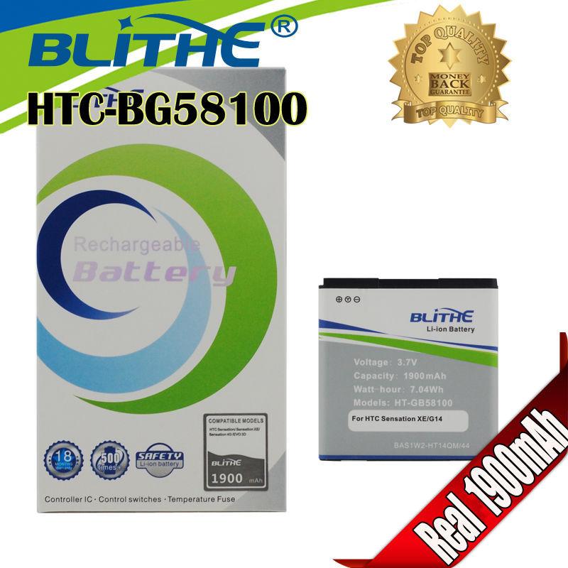 Blithe Top 1900mAh Battery for HTC EVO 3D sensation xl G14 X515m G17 Sensation XE Z715e G18,Standby time exceed any brand(Hong Kong)
