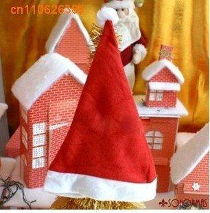 Free Shipping Christmas hat , Popular fashion Santa hats , Christmas party hat , xmas hat , Christmas cap Unisex