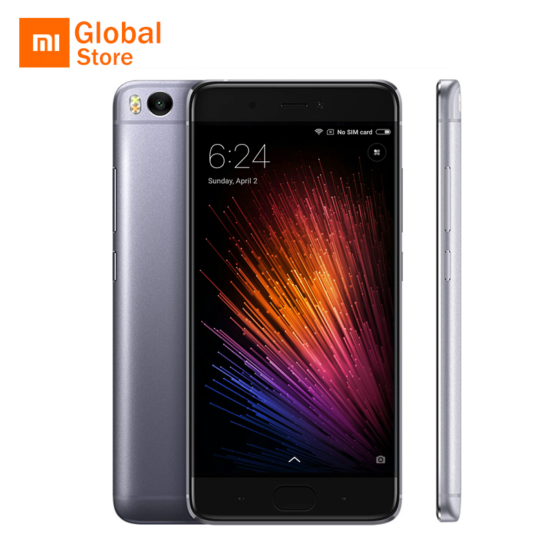 "Xiaomi Mi 5S Prime Mi5s 4GB RAM 128GB ROM Mobile Phone Snapdragon 821 Quad Core 5.15"" FHD Ultrasonic Fingerprint ID Original"