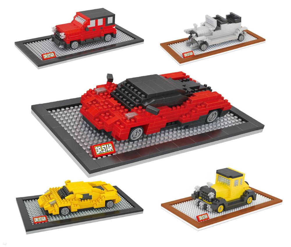 Super Car Model of Pagani Educational Nano Block Toy Jeep Wrangeler Model Rolls Royce Classic Figure Diamond Brick(China (Mainland))