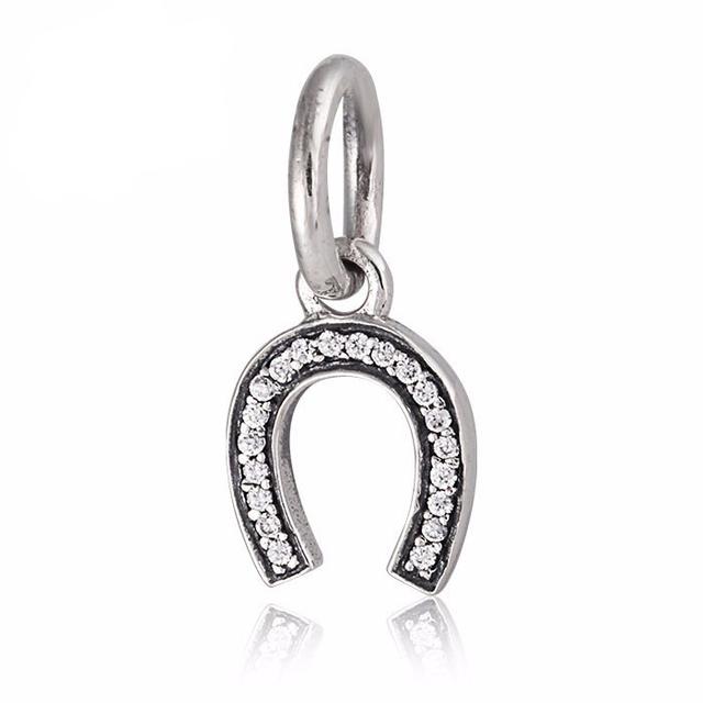Ясно CZ камни лаки мотаться шарм подходит пандора браслеты стерлингового серебра 925 бусины для женщин подарок серебряные 925 плавающие брелоки
