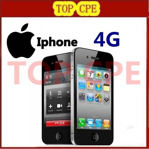 "Original Apple iPhone 4 Factory Unlocked 16GB/32GB IOS 7 1.0GHz 3G WIFI GPS 5.0MP 3.5""IPS 960*640px Brand Mobile Phone(China (Mainland))"