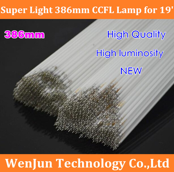 Super Light 386mm*2.4mm LCD backlight ccfl lamp for 19 inch lcd monitor /laptop screen High Quality(China (Mainland))