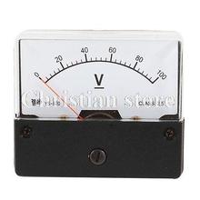 Buy Class 2.5 Accuracy AC 0-100V Direct Current Analog Voltage Panel Meter for $8.04 in AliExpress store