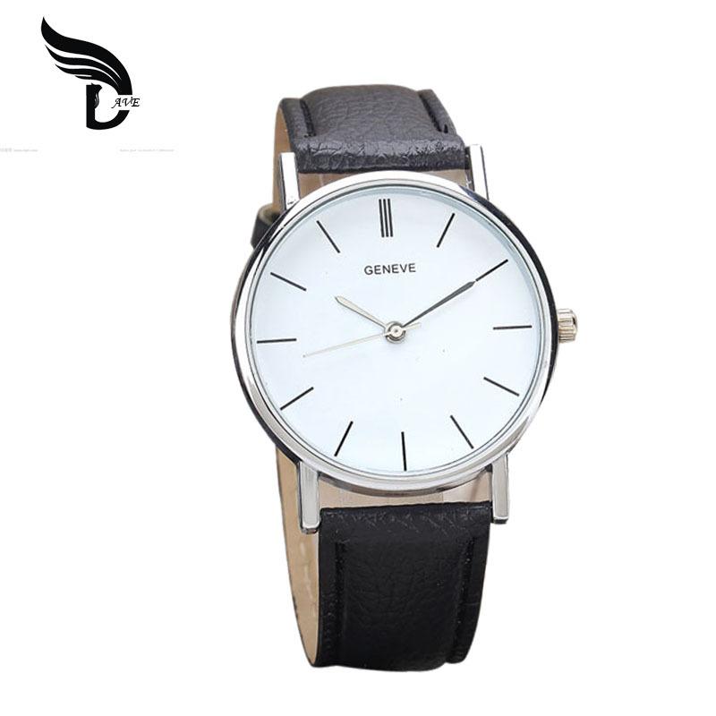 Гаджет  New Arrival Leather   Geneva Women Dress Wristwatches Woman Quartz Watch Cheap Geneva Hour for Girls Gift Popular Geneva Relojes None Ювелирные изделия и часы