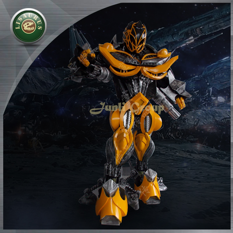 Lisaurus-I high quality Simulation EVA Bumblebee Costume,Realistic Transformers 4 costume,Cosplay Bumblebee Costume(China (Mainland))