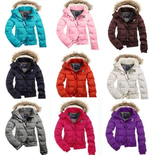 2014 winter new arrival, hooded jacket ,fashion fur collar,Cotton-padded jacket,elegant coat,retail! - Cow's love store