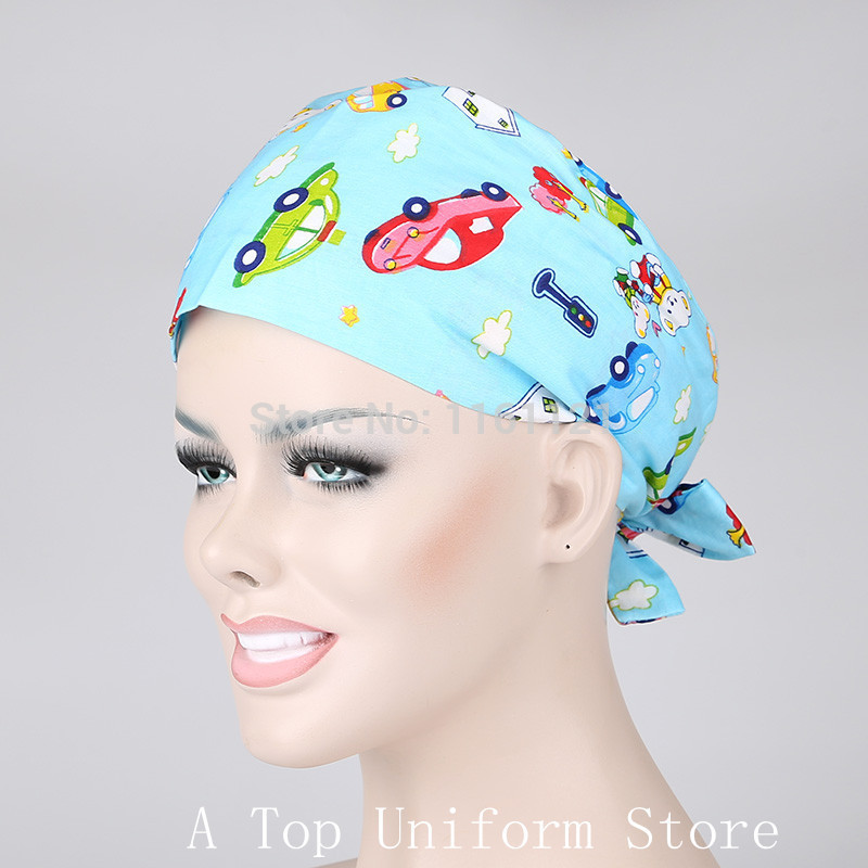 2016 Jalecos Hospital Surgical Cap Medical Scrub Caps for Women Doctors And Nurse restaurant font b