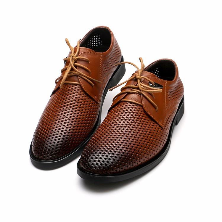 Большой размер марка натуральная кожа мужчины оксфорд лучшее качество удобные мужчины квартиры туфли квартиры мужчин сеткой летняя обувь