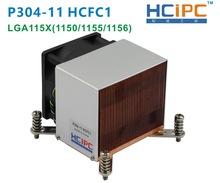 HCIPC P304-11 HCFC1 LGA115X CPU Heatsinks ,LGA1150/1155/1156 Copper 2U Cooler,2U/3U/4U/5U Sever Cooler,2U Cooling - ShenZhen HeCheng IPC Technology Co. Ltd store