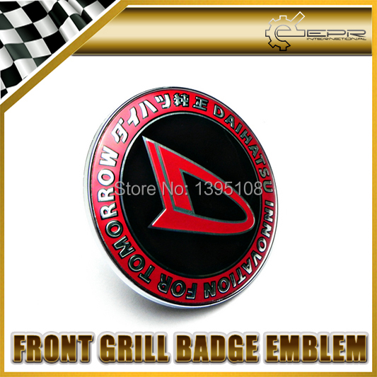 Car Styling Universal JDM DAIHATSU Front Grill Badge 90MM Diameter<br><br>Aliexpress