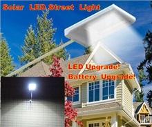 2015 NEW Outdoor Lighting 3000MAH 15LED 2835 Solar Street Light Garden Pathway Wall Lamp LED Solar panel light garden decoration(China (Mainland))