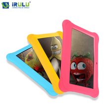 iRULU BabyPad Y1 7'' Tablet PC Kids Children Tablet Android 4.4 Quad Core Dual Cam Google 1G RAM 8G ROM Free Silicone Case(China (Mainland))