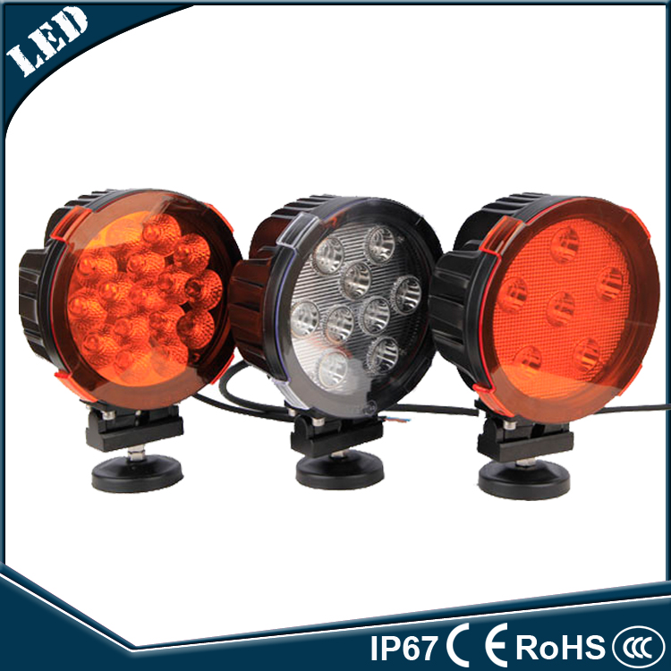 Hot sales 7'' 80w led tractor work light driving light combo beam fog light 4x4 OFFROAD ATV UTV 4WD(China (Mainland))